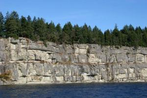 Cliffs from the sea