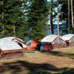 Tenting on Valdes
